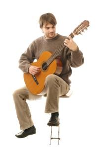 Guitar acoustic adults