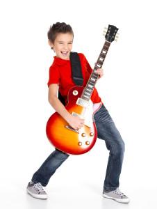Guitar bass children